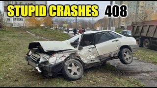Stupid driving mistakes 408 (October 2019 English subtitles)