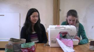 Erklärfilm: Stoffkörbchen nähen