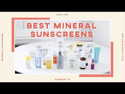 😎Best Mineral Sunscreens for Each Skin Type » Review, Demo, Recommendation