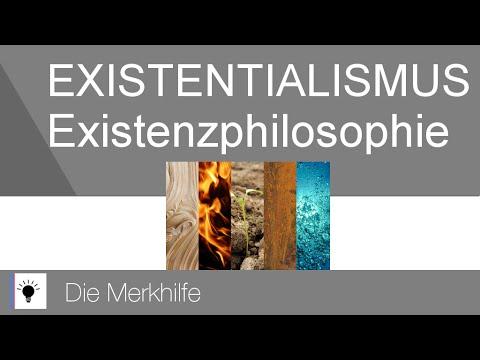 Der Existentialismus - Existenzphilosophie - Wir als existierendes Sein   Ethik