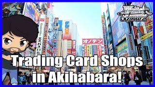 The Trading Card Shops in Akihabara!