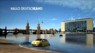 """Fiat 500 """"Hallo Fiat 500"""" Werbung 2013 The Fiat Song Arianna ft. Pitbull - Sexy People"""