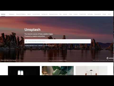 #Unsplash el banco de imágenes de los artistas | Descargar gratis fotos sin derechos de autor