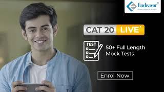 CAT Comprehensive LIVE | Endeavor Careers