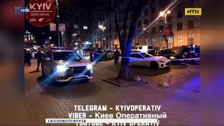 В центре столицы водители устроили стрельбу