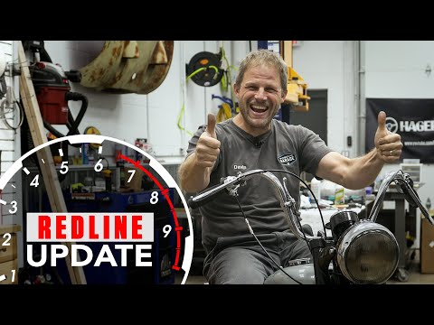 Repairing The Fonz's vintage Triumph motorcycle - Will it run? [20:53]