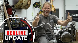 Repairing The Fonz's vintage Triumph motorcycle - Will it run?