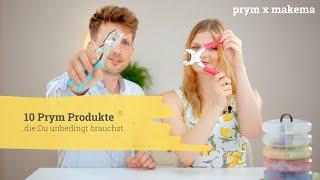 10 Prym Lieblinge & exklusiver Blick auf den NEUen Rollschneider prym.ergonomics | Prym x Makema