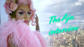 An hour with Aja: dishing on drag fights, racism and YOU