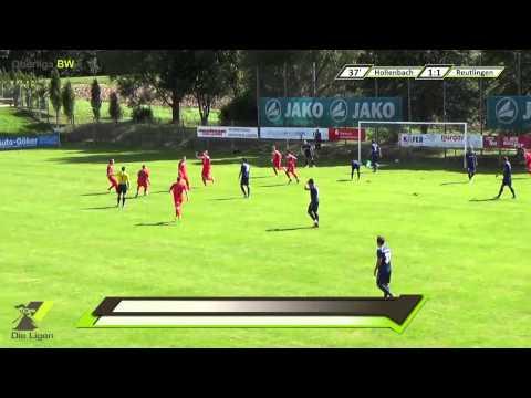 1. Spieltag 14/15: FSV Hollenbach - SSV Reutlingen