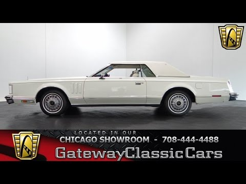 Video of 1978 Lincoln Continental - $9,595.00 Offered by Gateway Classic Cars - Chicago - KEVR