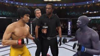 Bruce Lee Vs. Megamind (EA Sports UFC 3)