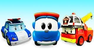 Игрушки Грузовичок Лева и Робокар Поли — Мультики для детей