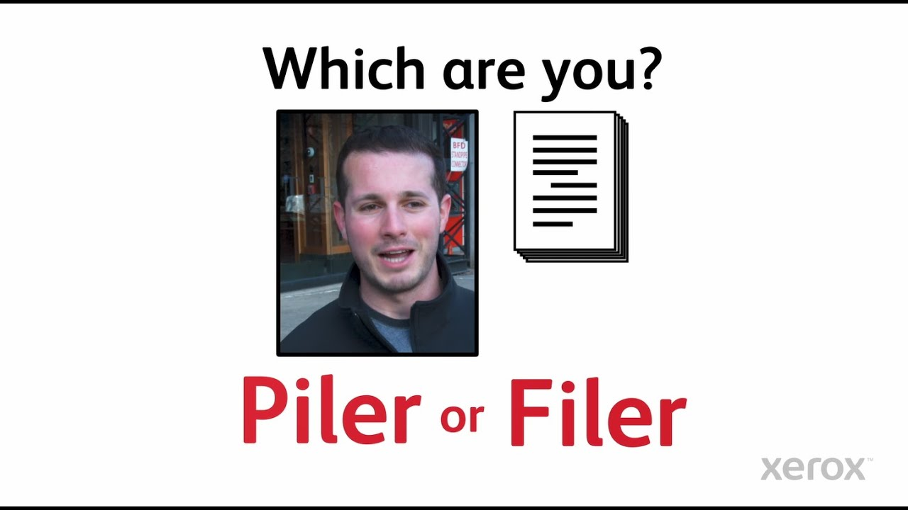 Are You a Piler or a Filer? YouTube Video