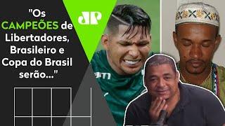 Veja as previsões que um pai de santo amigo do Vampeta fez para Libertadores, Brasileiro e Copa-BR!