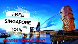 FREE SINGAPORE TRIP (Transit Visa while BALI Trip) (in Hindi)
