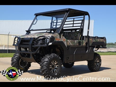 2016 Kawasaki Mule Pro-FX EPS Camo in La Marque, Texas - Video 1