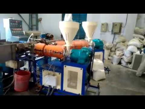 LDPE pipe making machine