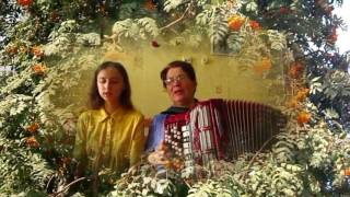 Тонкая рябина ❤️Душевная, народная песня! Играй гармонь народная! Russian folk song  Thin rowan