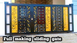 Amazing Metal Sliding Gate | Hanging Sliding Gate