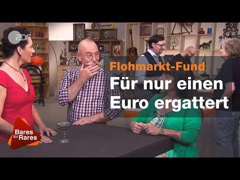 Plötzlich kleinlaut! Königliche Kurven lassen Horst erröten -  Bares für Rares vom 05.10.2018 | ZDF