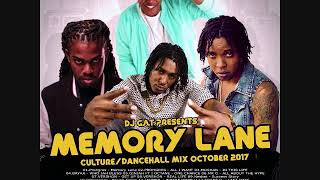DJ GAT MEMORY LANE CULTURE/DANCEHALL MIX OCTOBER 2017 FT PROHGRES FT SHANE O/JAHMIEL 1876899-5643