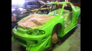 Eclipse Tuning 2G DSM Show and Street Car Pittsburgh Project DSM