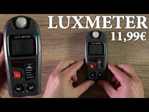 Luxmeter (Lichtmesser) Test / Unboxing / Review