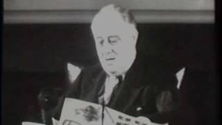 FDR Starts $9,000,000,000 'V' Loan Drive 1942/11/30
