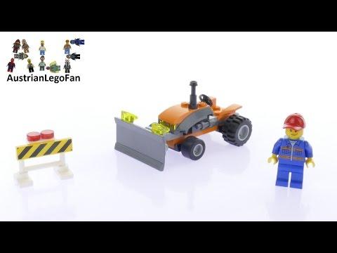 Vidéo LEGO City 30353 : Tracteur (Polybag)