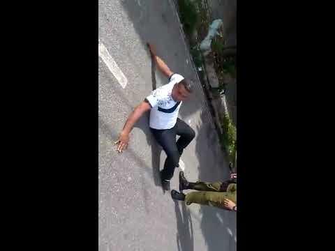 Polícia filma homem simular apanhar dos policiais em Belém