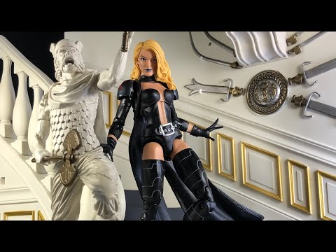X-MEN MARVEL LEGENDS EMMA FROST (WALGREENS EXCLUSIVE) ACTION FIGURE REVIEW