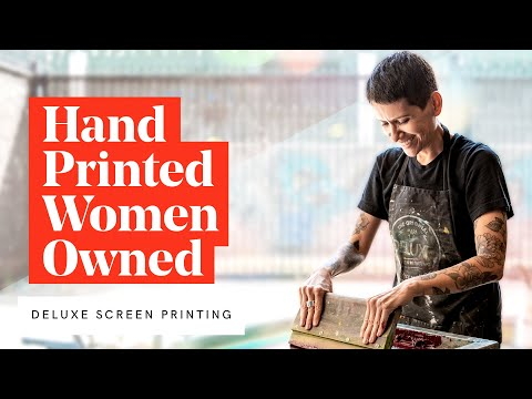 Behind the Scenes at Deluxe Screen Printing, LA's First Female Owned and Operated Shop