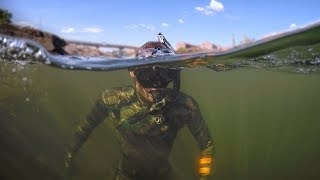 Found Boat Motor and Anchors while Swimming in River! (Freediving) | DALLMYD - Video Youtube