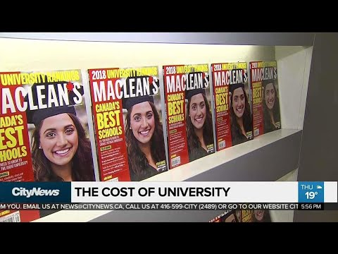 For mcgill university americans cost Tuition fees