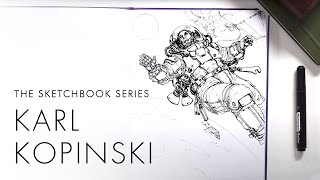 Sketchbook ep.1 - Karl Kopinski