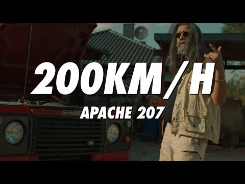 APACHE 207 - 200km/h (lyrics)