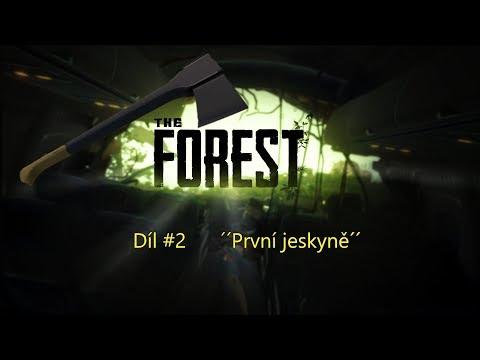 #TheForest Zkoumání první jeskyně