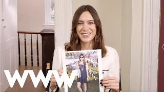 Alexa Chung Reviews Her Outfits From Over The Years | Who What Wear