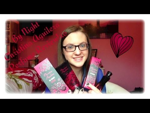 MinnieMollyReviews♡By Night By Christina Aguilera Perfume Review!♡