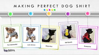 Best Fit Dog Shirt DIY - Simple Step By Step Clothing Ideas 5-in-1