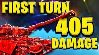 405 Damage On My First Turn! - Shellshock Live Showdown | JeromeACE