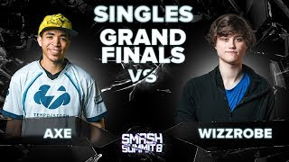 Axe Vs Wizzrobe   GRAND FINALS: Melee Singles   Smash Summit 8 | Pikachu Vs Captain Falcon