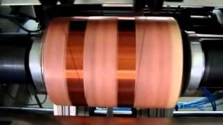 full automatic CNC transformer coil winding machine
