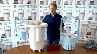 The Lavario Portable Clothes Washer