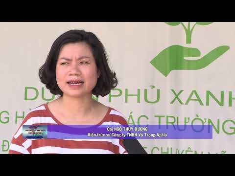 Phủ xanh trường học, đón chào năm học mới 2019-2020
