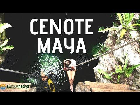 Conociendo el Cenote MÁS GRANDE de la península de Yucatán.