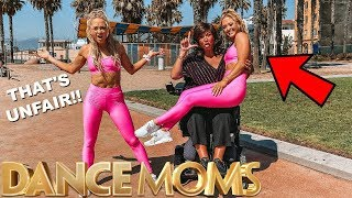 ABBY LEE Vs The Rybka Twins! ULTIMATE Acro challenge!