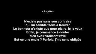 Angèle   Tout Oublier Feat. Roméo Elvis (Paroles)