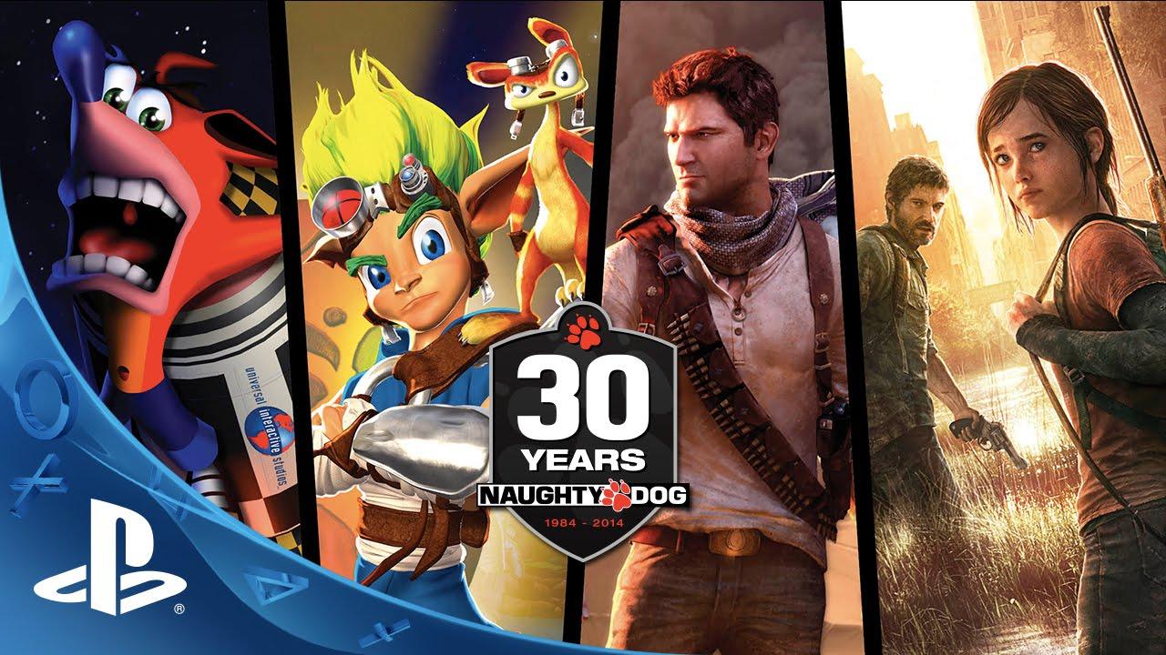 Naughty Dog 30th Anniversary Art Show Details